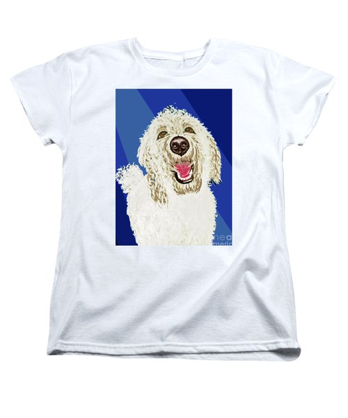 Women's T-Shirt (Standard Cut) featuring the painting Coco Digitized by Ania M Milo