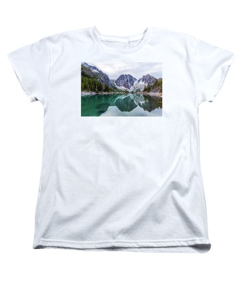 Colchuck Lake Women's T-Shirt (Standard Cut) by Evgeny Vasenev