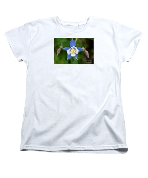 Women's T-Shirt (Standard Cut) featuring the photograph Colorado Blue by Sandy Molinaro