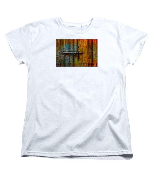 Colorful Lock Women's T-Shirt (Standard Cut)