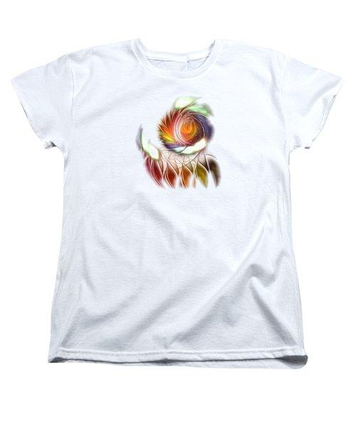 Colorful Promenade Women's T-Shirt (Standard Cut) by Anastasiya Malakhova