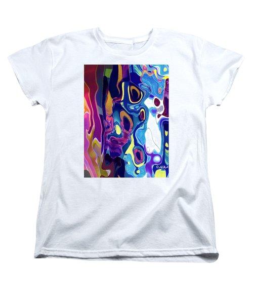 Colorinsky Women's T-Shirt (Standard Cut) by Alika Kumar