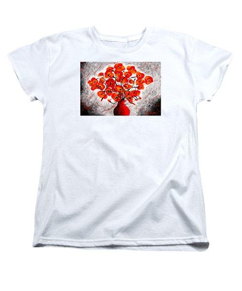 Colors Of Love Women's T-Shirt (Standard Cut) by Leon Zernitsky