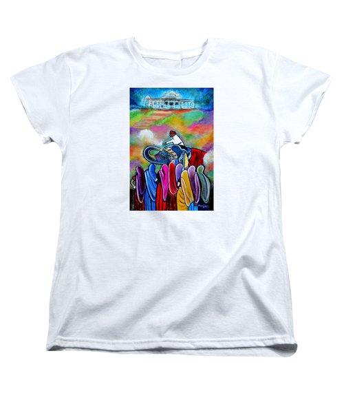 Colors Of Rajasthan Women's T-Shirt (Standard Cut)
