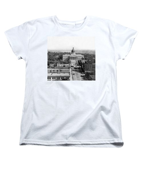 Columbia South Carolina - State Capitol Building - C 1905 Women's T-Shirt (Standard Cut) by International  Images