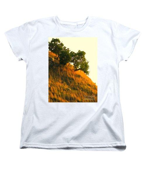 Women's T-Shirt (Standard Cut) featuring the photograph Coming Home Again by Joe Jake Pratt