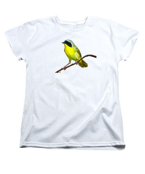 Common Yellowthroat Women's T-Shirt (Standard Cut) by Rory Viale
