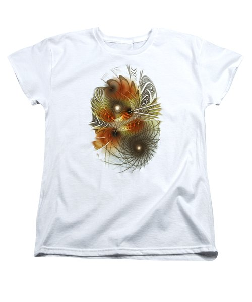 Connection Game Women's T-Shirt (Standard Cut) by Anastasiya Malakhova