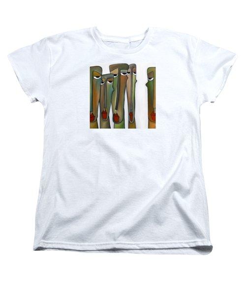 Constituents Women's T-Shirt (Standard Cut) by Tom Fedro - Fidostudio