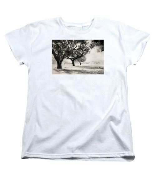 Cork Trees Women's T-Shirt (Standard Cut) by Celso Bressan