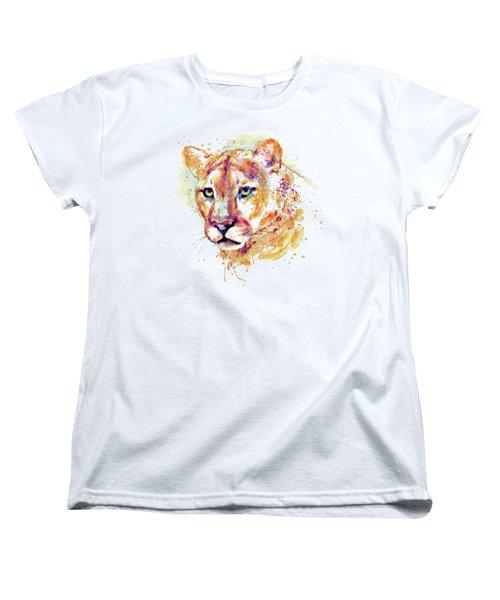 Cougar Head Women's T-Shirt (Standard Fit)