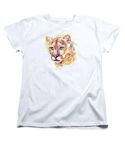 Cougar Head Women's T-Shirt (Standard Fit)