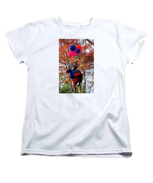 Coulrophobia Women's T-Shirt (Standard Cut) by Paul Mashburn