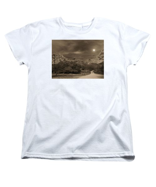 Women's T-Shirt (Standard Cut) featuring the photograph Country Moonlight by Beto Machado