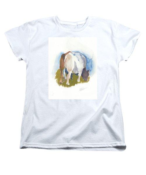 Cow I Women's T-Shirt (Standard Cut)