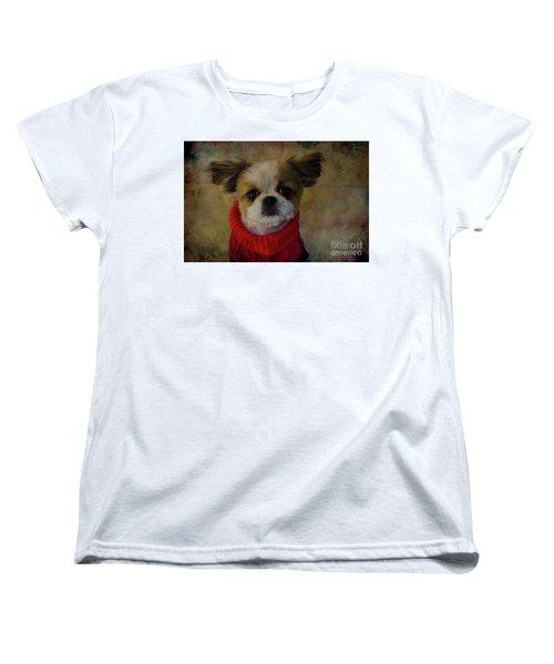 Cozy Sadie Women's T-Shirt (Standard Cut) by Al Bourassa