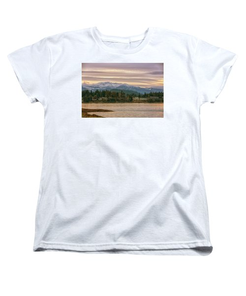 Women's T-Shirt (Standard Cut) featuring the photograph Craig Bay by Randy Hall