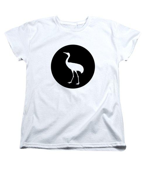 Crane Women's T-Shirt (Standard Cut) by Mordax Furittus