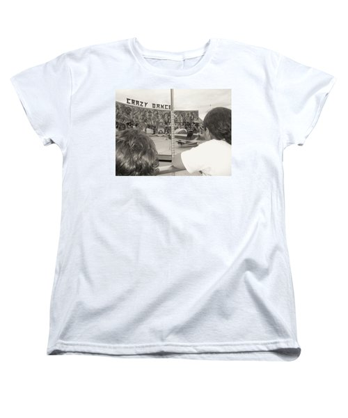 Women's T-Shirt (Standard Cut) featuring the photograph Crazy Dance by Beto Machado