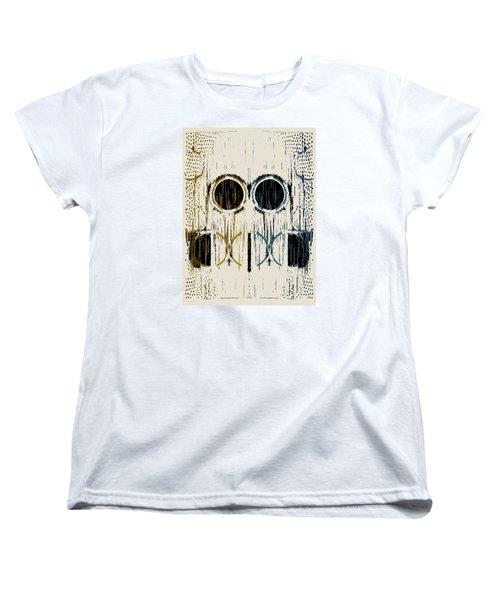 Cream Rings Women's T-Shirt (Standard Cut)