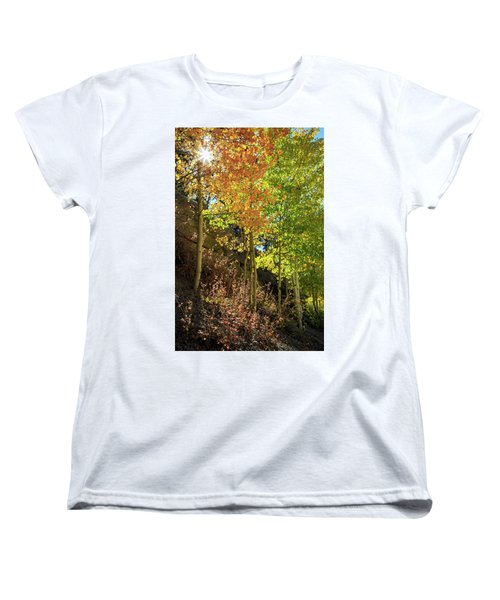 Women's T-Shirt (Standard Cut) featuring the photograph Crisp by David Chandler