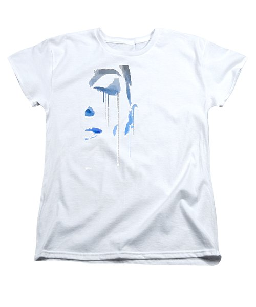 Crying In Pain Women's T-Shirt (Standard Cut) by ISAW Gallery