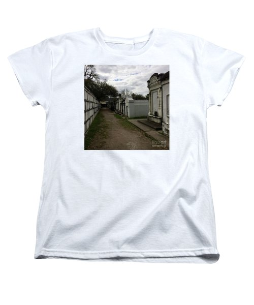 Women's T-Shirt (Standard Cut) featuring the photograph Crypts by Kim Nelson