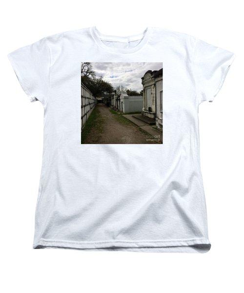 Crypts Women's T-Shirt (Standard Cut) by Kim Nelson
