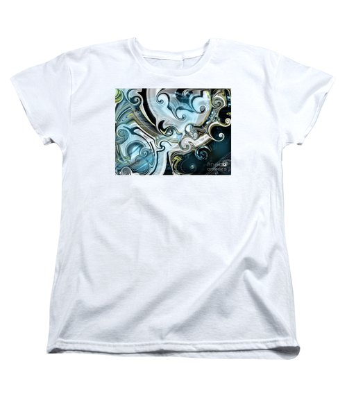 Curves Ahead Women's T-Shirt (Standard Cut) by Yul Olaivar