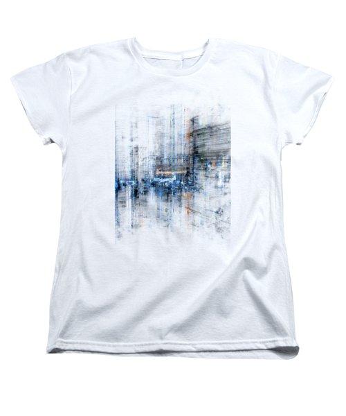 Cyber City Design Women's T-Shirt (Standard Cut) by Martin Capek