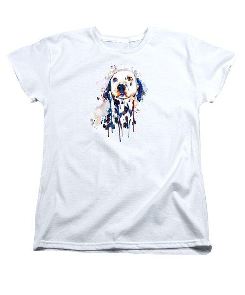 Dalmatian Head Women's T-Shirt (Standard Fit)