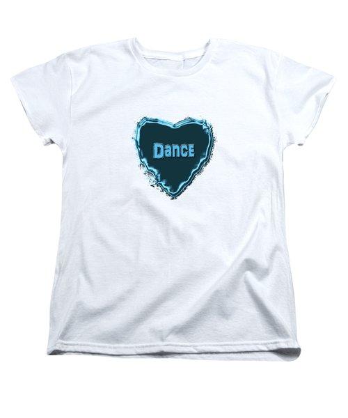 Women's T-Shirt (Standard Cut) featuring the digital art Dance by Linda Prewer