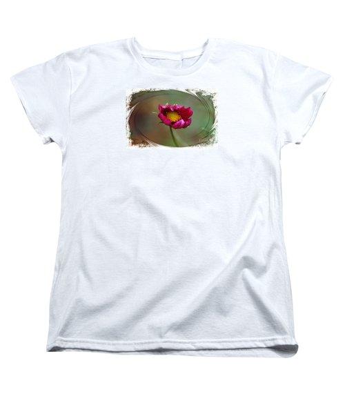 Dancing With Wind Women's T-Shirt (Standard Cut) by Yumi Johnson