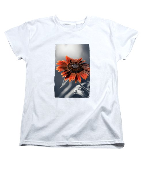 Dark Sunflower Women's T-Shirt (Standard Cut) by Konstantin Sevostyanov
