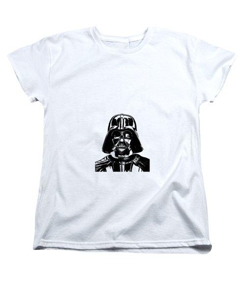 Darth Vader Painting Women's T-Shirt (Standard Cut) by Edward Fielding