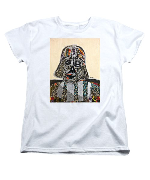 Darth Vader Star Wars Afrofuturist Collection Women's T-Shirt (Standard Cut) by Apanaki Temitayo M