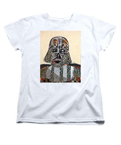 Darth Vader Star Wars Afrofuturist Collection Women's T-Shirt (Standard Cut)