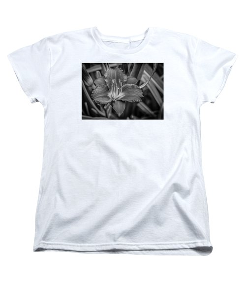 Women's T-Shirt (Standard Cut) featuring the photograph Day Lilly by Ray Congrove