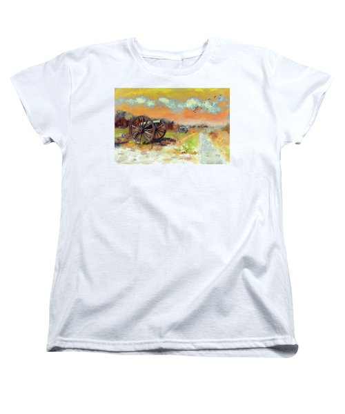 Women's T-Shirt (Standard Cut) featuring the photograph Days Of Discontent by Lois Bryan