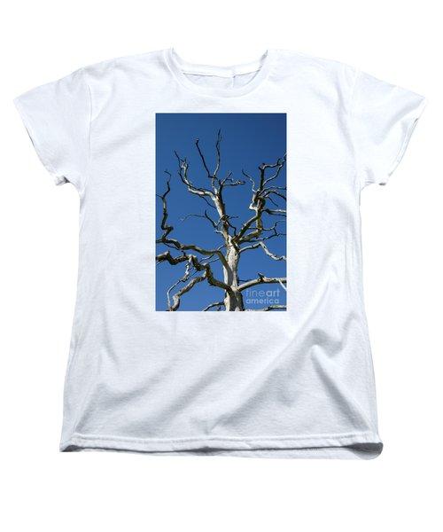 Dead Oak Tree Women's T-Shirt (Standard Cut) by Kennerth and Birgitta Kullman