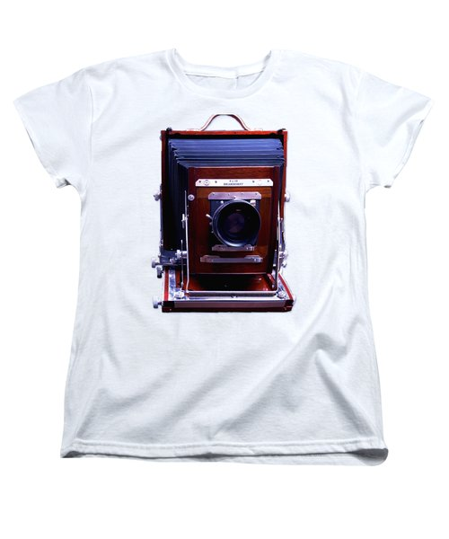 Deardorff 8x10 View Camera Women's T-Shirt (Standard Cut) by Joseph Mosley