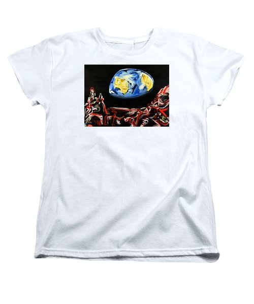 Death By Starlight Women's T-Shirt (Standard Cut) by Ryan Demaree