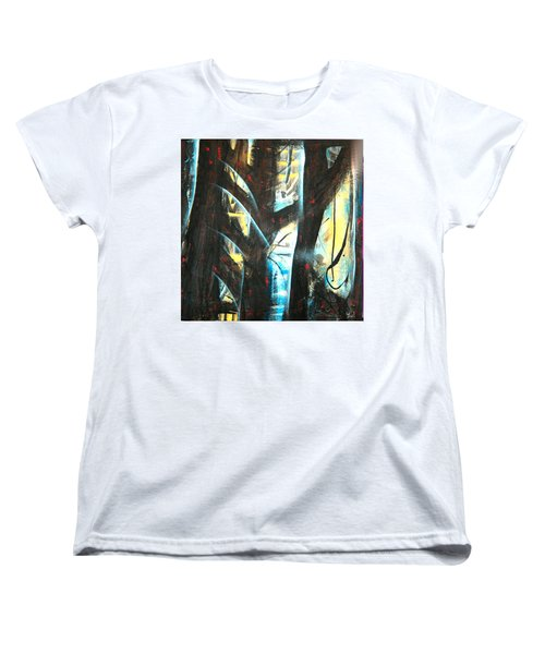 Perceptive Echo Women's T-Shirt (Standard Cut) by Yul Olaivar