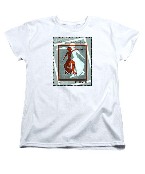 Delta Fortitude Women's T-Shirt (Standard Cut) by Lynda Payton