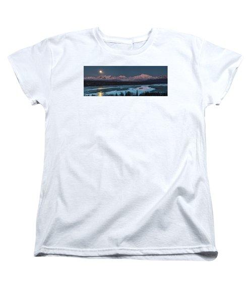 Denali Morning Blue Women's T-Shirt (Standard Fit)