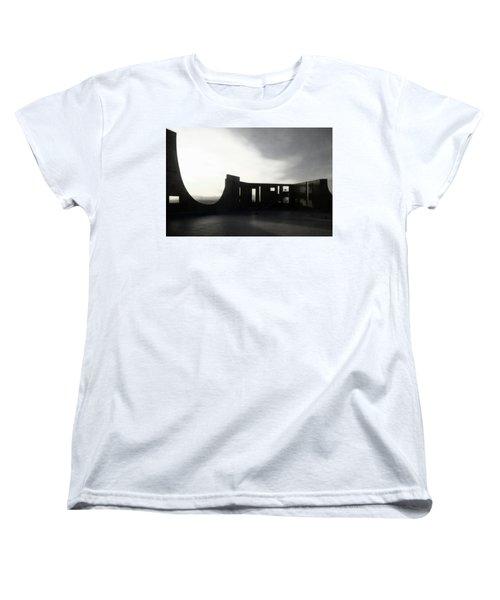 Women's T-Shirt (Standard Cut) featuring the photograph Denver Art Museum Ponti 2 by Marilyn Hunt