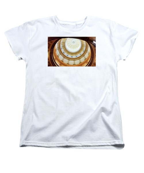 Women's T-Shirt (Standard Cut) featuring the photograph Denver Capitol Dome 1 by Marilyn Hunt