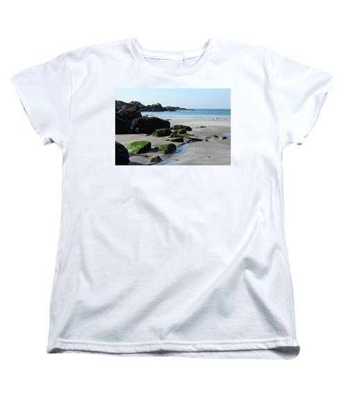 Derrynane Beach Women's T-Shirt (Standard Cut) by Marie Leslie
