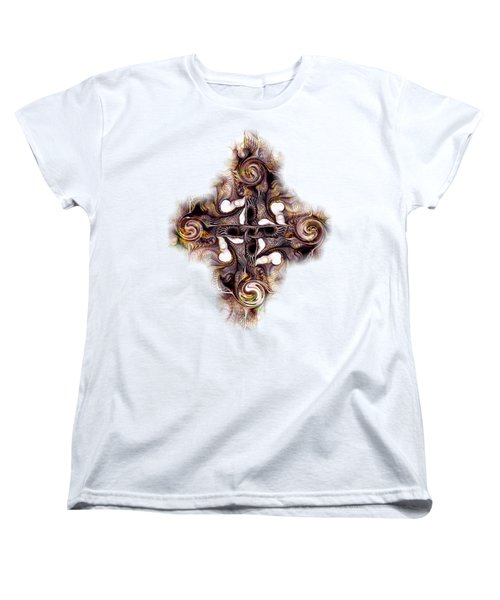 Desert Cross Women's T-Shirt (Standard Cut) by Anastasiya Malakhova