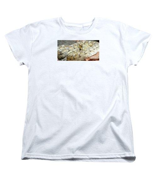 Desert Horned Viper Women's T-Shirt (Standard Cut) by KD Johnson